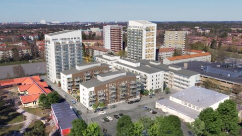 nyproduktion högdalen, nybygge stockholm