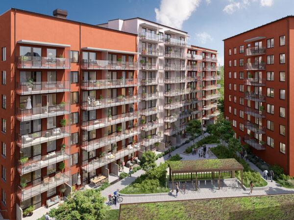 Nyproduktion Solna, Nyproduktion Stockholm